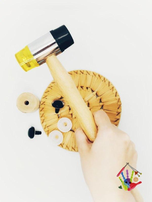 Інструмент для встановлення тугих заглушок, шайб, очей, носів, суглобів.