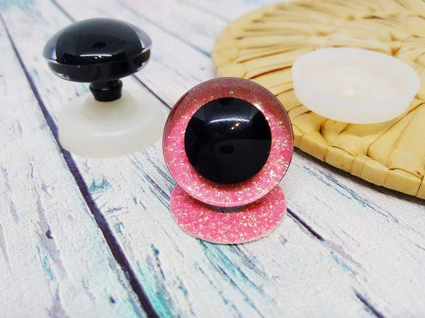 Очі 3D трапеції 24 мм