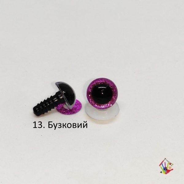 Очі напівсфери 14 мм, іскорки.